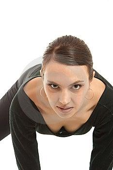 Beautiful Gymnast Royalty Free Stock Photo - Image: 8639495
