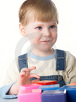 Boy Plays Stock Photos - Image: 8640123