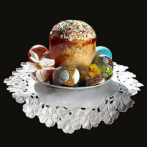 Easter Cake Royalty Free Stock Images - Image: 8640179