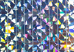 Metal Mosaic Royalty Free Stock Photos - Image: 8640308