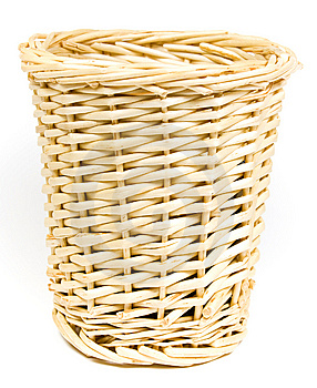 Bast Basket For Various Trifles Royalty Free Stock Images - Image: 8640319