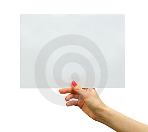 Card Blank Stock Photos - Image: 8640323