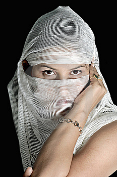 Arabian Girl Stock Photo - Image: 8640450