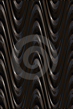 Dark 3d Waves Pattern Royalty Free Stock Images - Image: 8640679