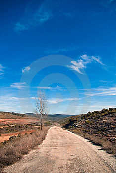 Old Road Royalty Free Stock Photography - Image: 8640907
