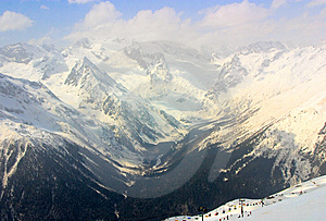 Caucasus Mountain Royalty Free Stock Photography - Image: 8640917