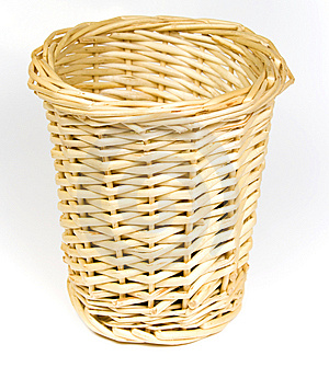 Bast Basket For Various Trifles Stock Photos - Image: 8640943