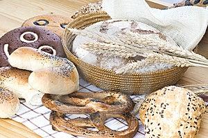 Chlebowy Skład Obrazy Royalty Free - Obraz: 8641249