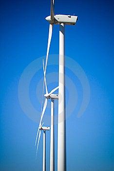 Trzy Turbina Wiatr Obrazy Stock - Obraz: 8641284