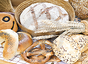 Bread Composition Stock Photo - Image: 8641300