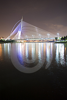 Millenium Bridge Putrajaya Royalty Free Stock Photos - Image: 8641368