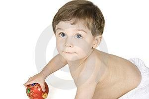 Christmas Baby Stock Image - Image: 8641551