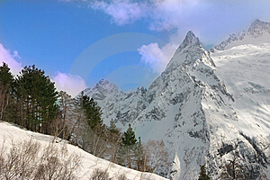 Caucasian Mountain Stock Images - Image: 8641624