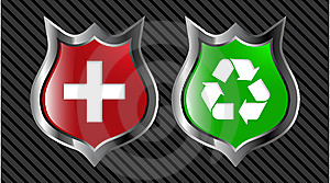 Shield Royalty Free Stock Images - Image: 8641799