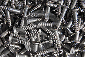 Pile Of Screws Royalty Free Stock Photos - Image: 8641868