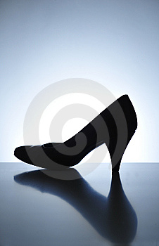 Women Shoe Royalty Free Stock Images - Image: 8641929