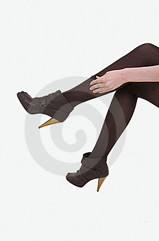 Girls Legs Royalty Free Stock Images - Image: 8642119