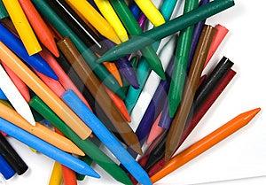 Heaped Color Nurseries Wax Royalty Free Stock Photos - Image: 8642138