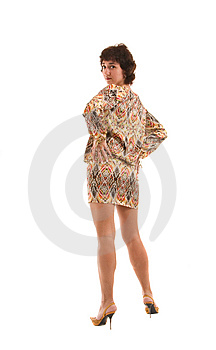 Mooie Vrouw Royalty-vrije Stock Foto's - Afbeelding: 8642148