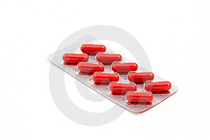 Capsules Dietary Supplement In Blister Pack Stock Photos - Image: 8642303