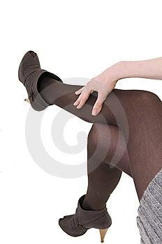 Girls Legs Stock Image - Image: 8642411