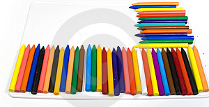 Many Wax Pencils Stock Photography - Image: 8642412