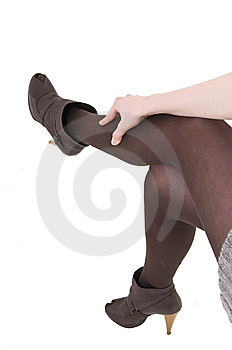 Girls Legs Royalty Free Stock Photos - Image: 8642438