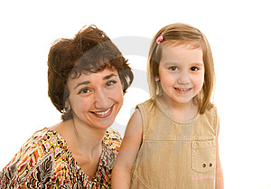 Mother And Daughter Stock Image - Image: 8642451