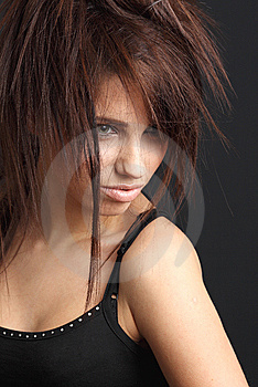 Portrait Of Beautiful  Woman. Stock Photography - Image: 8642522