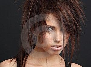 Portrait Of Beautiful  Woman. Stock Photography - Image: 8642732