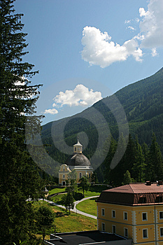 Town In Alps Stock Image - Image: 8642801