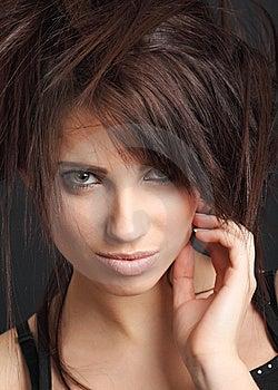Portrait Of Beautiful  Woman. Stock Photography - Image: 8642812