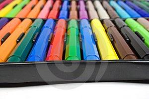 Color Felt-tip Pens Stock Images - Image: 8642854