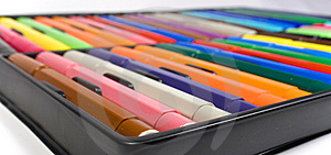 Children's Felt-tip Pens Stock Images - Image: 8642984