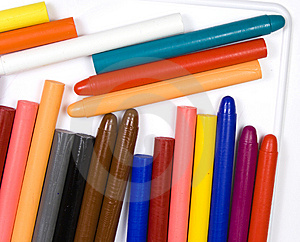 Children's Oil Pencils Stock Images - Image: 8643054