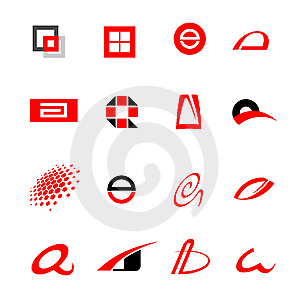 Logotypes Royalty Free Stock Photo - Image: 8643275