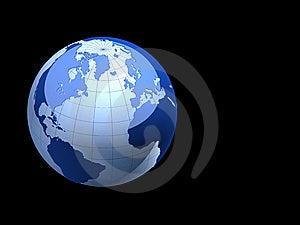 3d Earth Stock Photos - Image: 8643663