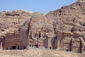 Ancient City Of Petra Royalty Free Stock Images - Image: 8643699
