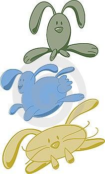 Bunnies Royalty Free Stock Photos - Image: 8644158