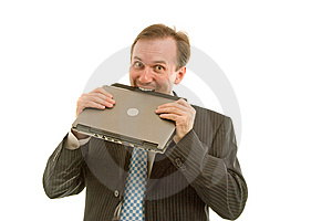 Young Businessman Stock Photo - Image: 8644480
