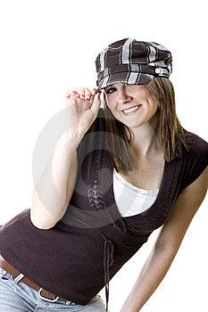 Kvinnligmodell Royaltyfria Bilder - Bild: 8644659