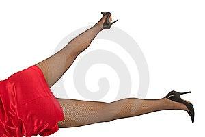 Pretty Woman Legs Stock Photo - Image: 8644760