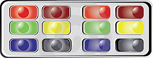 Buttons For Web-site Royalty Free Stock Photo - Image: 8644995