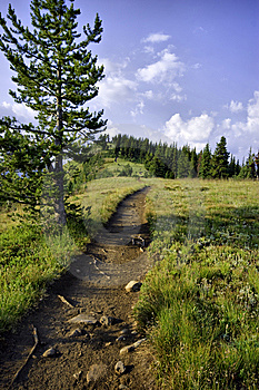 Ridge Hiking Path Stock Photography - Image: 8645242