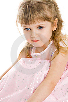 Pretty Little Girl Royalty Free Stock Photos - Image: 8646228