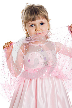 Pretty Little Girl Royalty Free Stock Photos - Image: 8646238