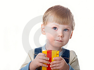 Boy Plays Royalty Free Stock Photos - Image: 8646568