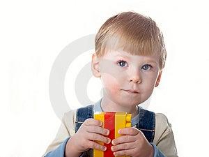 Boy Plays Royalty Free Stock Photos - Image: 8646568