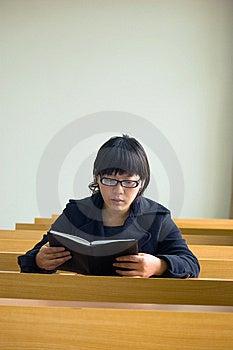 Asian University Students Royalty Free Stock Photos - Image: 8646898