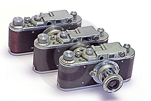 Old Photo Cameras Stock Photography - Image: 8646922